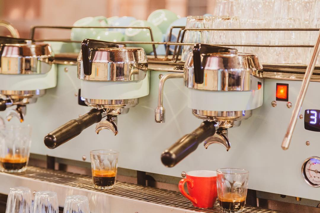 mint green Synesso S300 coffee machine perth cafes cottesloe fremantle